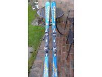 Mens Head iXRC Skis and poles