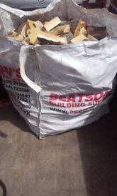 ton bag of logs for sale £50 free local delivery