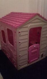 Girls playhouse