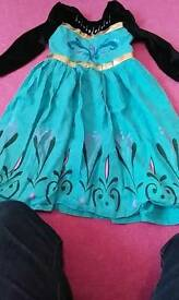 Frozen dress size up to 110cm tall