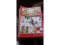 Collection of the comic smut