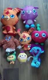 Moshi monster teddy bears in great condition
