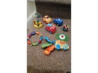 8 Assorted Baby Toys