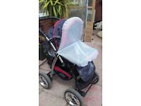 Baby merc stroller in good condition.
