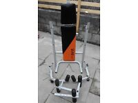 foldable weight training bench