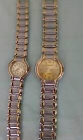 Two Philip mercer ladies watches