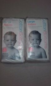 Brand new large washable nappies