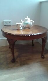 large antique walnut coffee table text 07592768668