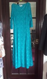 Mother of the bride dress size 18.