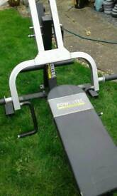 Power tex leverage bench Olympic type