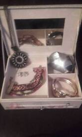 Jewellery Box and costume Jewellery