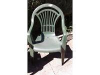 4 Aquarius Patio Chairs