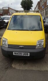 2009 FORD TRANSIT CONNECT T 200 L SWB 75 TDCI