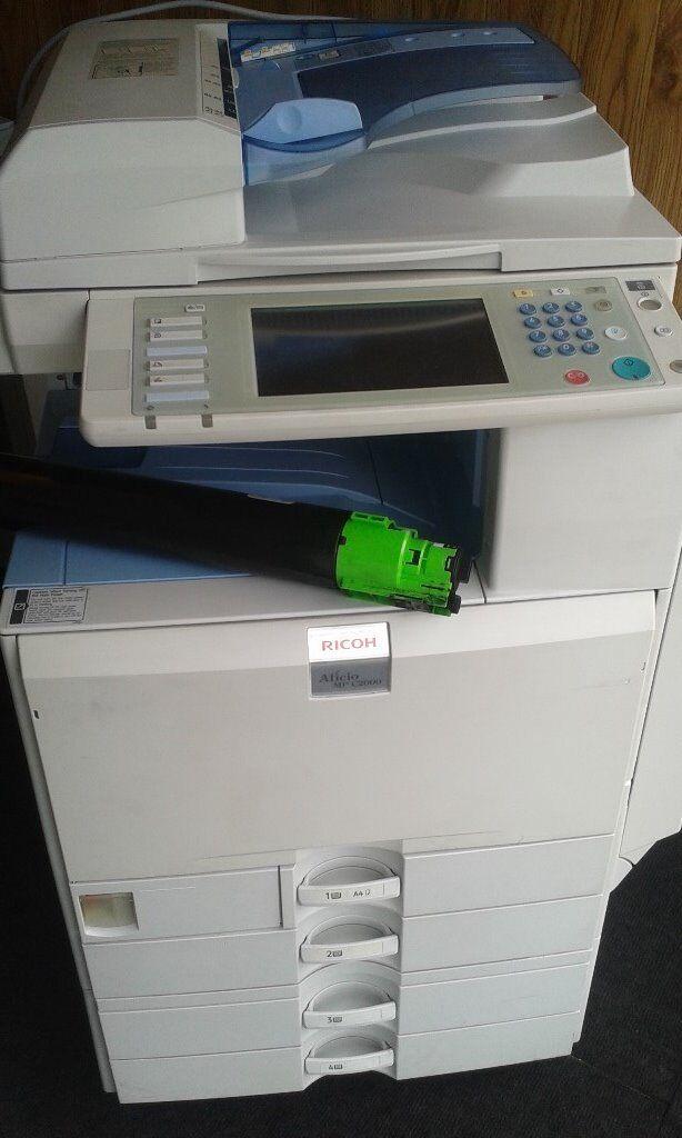 Ricoh MPC2000 Colour Copier/Printer/Scanner | in Barnet