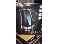 "BRAND NEW !!! Electric KETTLE "" Russell Hobbs "" 1.7L EBONY"
