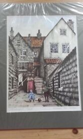 Gill butterfield signed print whitby & kendal
