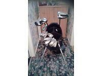 MacGregor DX Golf Clubs & bag
