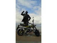 Monkeybike Skyteam Skymax ST-125 Honda ST70 Dax Monkey Bike
