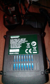 18v qualcast battery replacement with charger for hedge trimmer