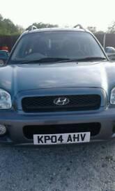 04 plate Hyundai Santa fe