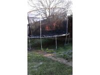 large trampoline £80