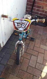Childs Bike (suit 2 - 5 yr)
