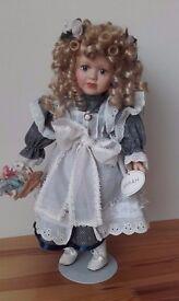"""Porcelain doll - """"Sarah"""" 43cm"""