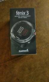 Garmin fenix 3 GPS smart watch