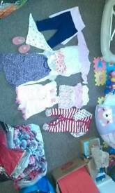 baby girls cloths bundle