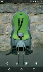 Childs cycle pillion seat.