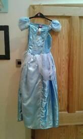 Cinderella princess dress age 7 -8