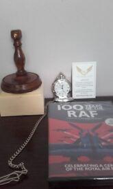 RAF Centenary Pocket watch and DVD