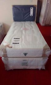 NEW Myer Adams Windsor 1 Drawer Single Bed With Mattress