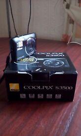 Nikon Coolpix S3500 20 Megapixels