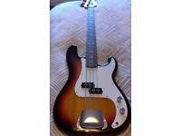 FENDER PRECISION BASS - MADE IN JAPAN.