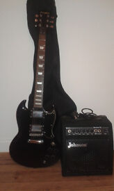 Westfield guitar with 15W Amp