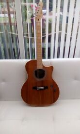 Electro acoustic guitar, made by revelation, in as new condition