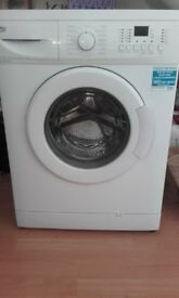 BEKO nearly new washing machine still under guarantee - 7kg load
