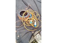 40metres of mains caravan leads