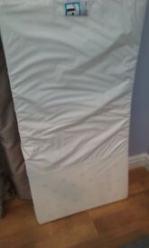 Brand new cot mattress 655 x 1290mm
