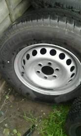 X2 Mitchlen tyres brand new 115/113 for a van