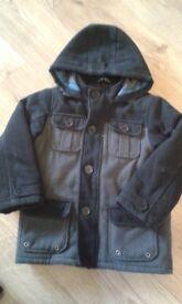 Boys winter coat age 7-8 years