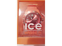 Ice-Watch Orange Unisex Silicone Watch