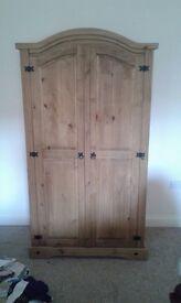 Puerto Rico Solid wood wardrobe 2 door