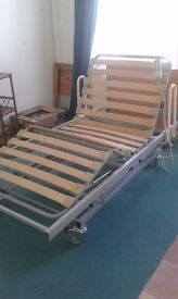 electric profiling hospital style bed, VGC