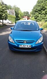 PEUPEUGEOT 307 2lt DIESEL FOR RENT / HIRE ONLY £35.00 WKLY TEL 07486043399