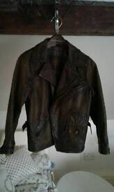 Boys Ralph Lauren leather jackets