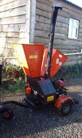 Wessex diesel wood chipper