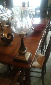 Bronze candle lantern