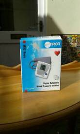 Omron, digital automatic blood pressure monitor